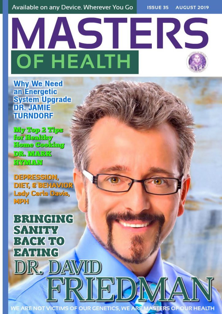 Dr Friedman Featured on the Cover